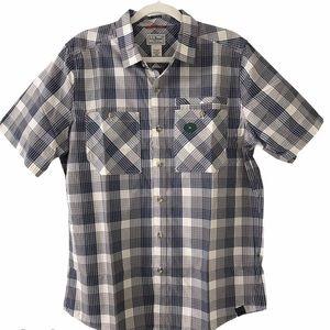 NWT L. L. Bean Otter Cliff Shirt Short Sleeve Sz M
